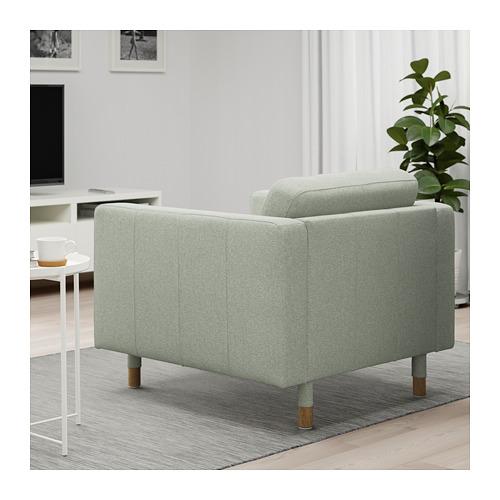 LANDSKRONA - armchair, Gunnared light green/wood | IKEA Hong Kong and Macau - PE680161_S4