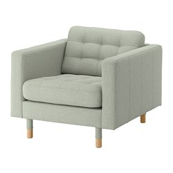 LANDSKRONA - armchair, Gunnared light green/wood | IKEA Hong Kong and Macau - PE680160_S3