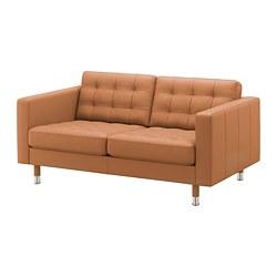 LANDSKRONA - 2-seat sofa, Grann/Bomstad golden-brown/metal | IKEA Hong Kong and Macau - PE680163_S3