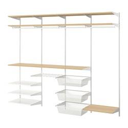 BOAXEL - 貯物組合, 白色/橡木   IKEA 香港及澳門 - PE770056_S3