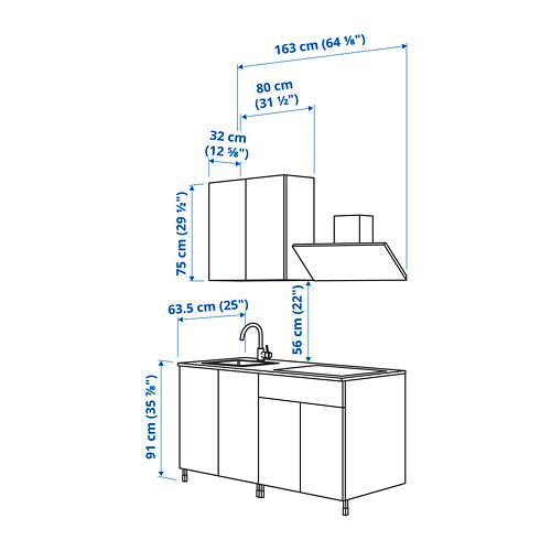 ENHET - 廚房, 仿混凝土 | IKEA 香港及澳門 - PE824575_S4