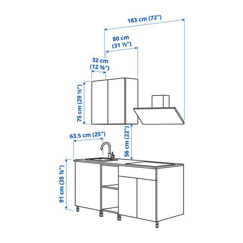 ENHET - 廚房, 炭黑色/灰色 框架 | IKEA 香港及澳門 - PE824577_S4