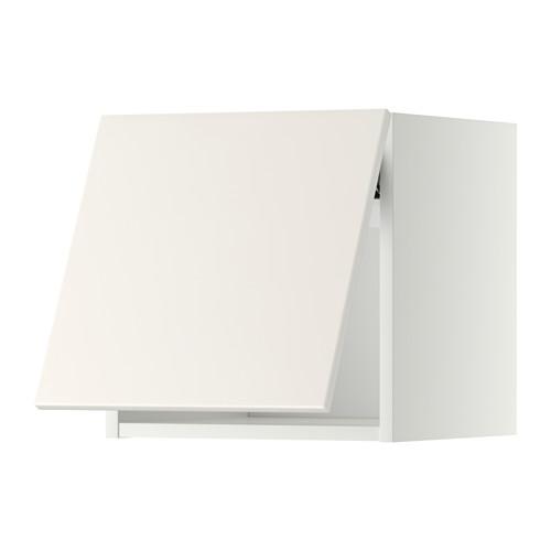 METOD - wall cabinet horizontal w push-open, white/Veddinge white | IKEA 香港及澳門 - PE357469_S4