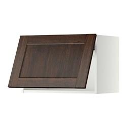 METOD - 橫吊櫃, 白色/Edserum 褐色   IKEA 香港及澳門 - PE357498_S3