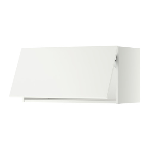 METOD wall cabinet horizontal w push-open