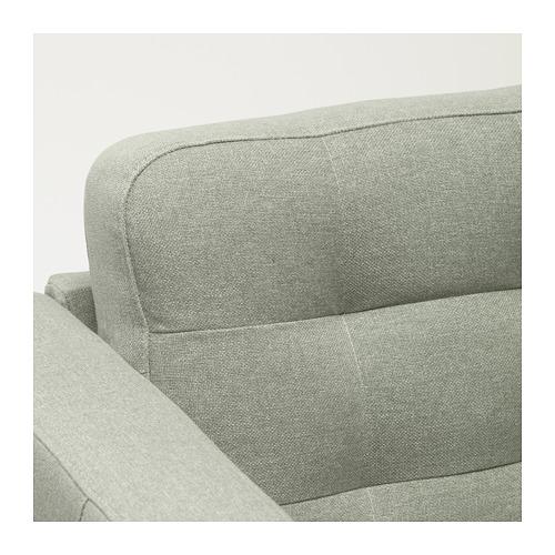 LANDSKRONA - 3-seat sofa, Gunnared light green/wood | IKEA Hong Kong and Macau - PE680172_S4