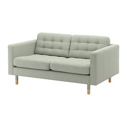 LANDSKRONA - 2-seat sofa, Gunnared light green/wood | IKEA Hong Kong and Macau - PE680175_S3