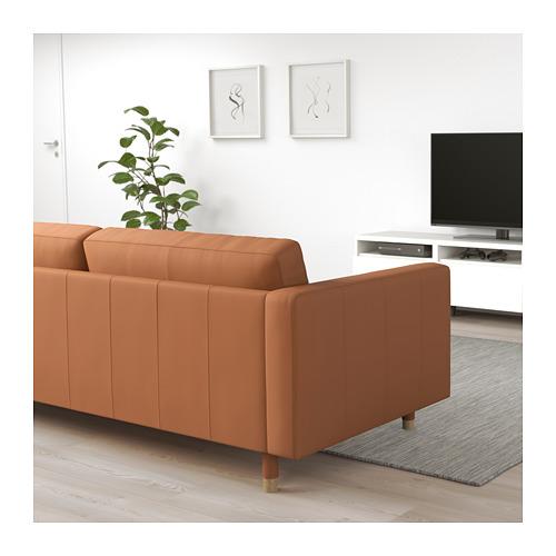 LANDSKRONA - 3-seat sofa, Grann/Bomstad golden-brown/wood | IKEA Hong Kong and Macau - PE680182_S4