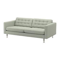 LANDSKRONA - 3-seat sofa, Gunnared light green/metal | IKEA Hong Kong and Macau - PE680189_S3