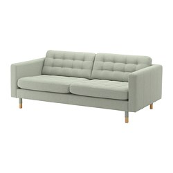 LANDSKRONA - 3-seat sofa, Gunnared light green/wood | IKEA Hong Kong and Macau - PE680191_S3