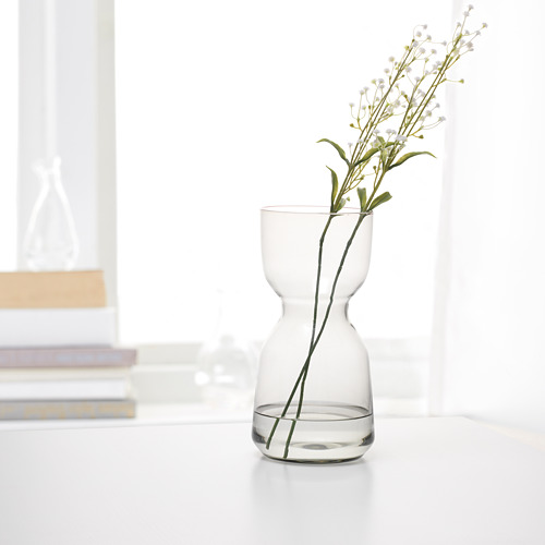 OMTÄNKSAM - 花瓶, 淺灰色   IKEA 香港及澳門 - PE694080_S4