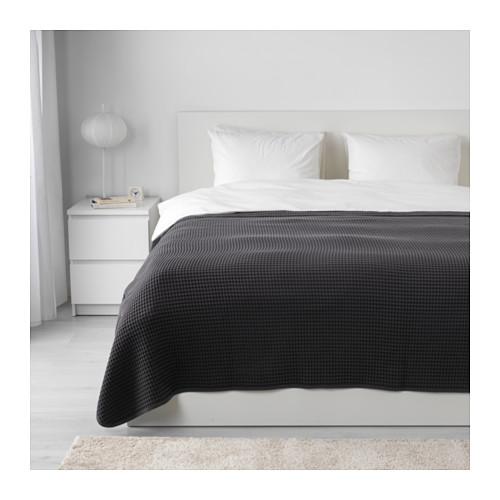 VÅRELD - bedspread, dark grey | IKEA Hong Kong and Macau - PE632118_S4