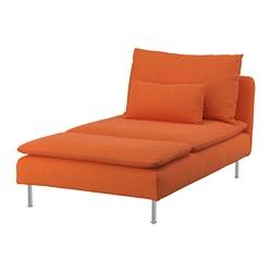 SÖDERHAMN - chaise longue, Samsta orange   IKEA Hong Kong and Macau - PE768435_S3