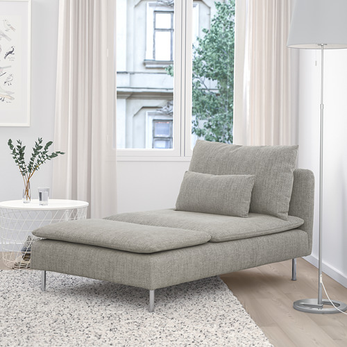 SÖDERHAMN - chaise longue, Viarp beige/brown | IKEA Hong Kong and Macau - PE768434_S4