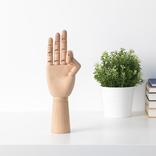 HANDSKALAD - 裝飾品,手, 原木色   IKEA 香港及澳門 - PE718784_S4