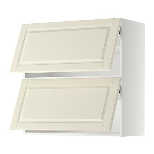 METOD - 雙門橫吊櫃, 白色/Bodbyn 灰白色 | IKEA 香港及澳門 - PE357612_S4
