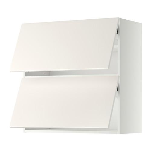 METOD - wall cabinet horizontal w 2 doors, white/Veddinge white | IKEA Hong Kong and Macau - PE357627_S4