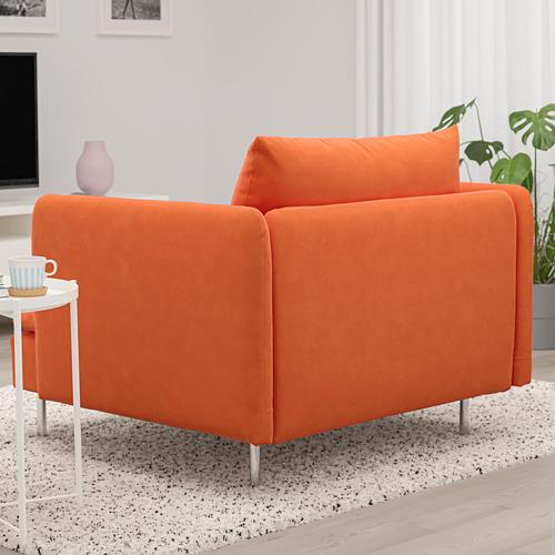 SÖDERHAMN - armchair, Samsta orange | IKEA Hong Kong and Macau - PE768530_S4