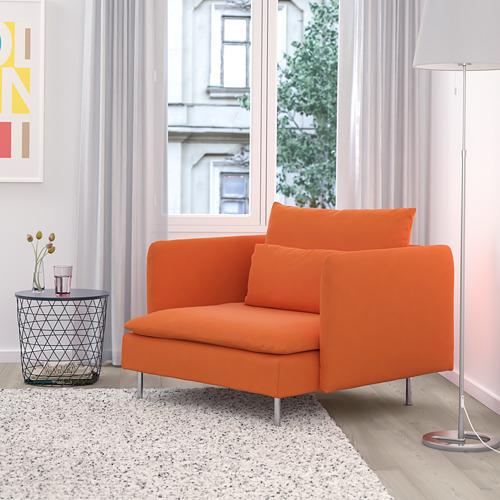 SÖDERHAMN - armchair, Samsta orange | IKEA Hong Kong and Macau - PE768531_S4