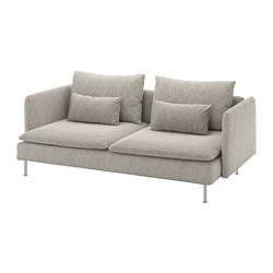 SÖDERHAMN - 三座位梳化, Viarp 米黃色/褐色 | IKEA 香港及澳門 - PE768543_S3
