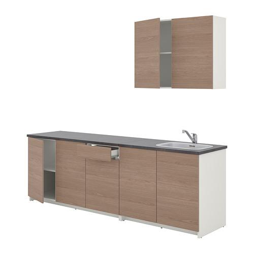 KNOXHULT - 廚房, 木紋 灰色 | IKEA 香港及澳門 - PE768546_S4
