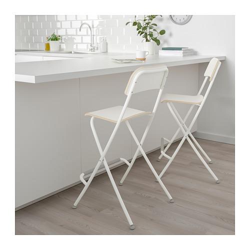 FRANKLIN 可摺式高腳凳連靠背
