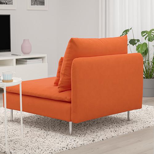 SÖDERHAMN - 單座位梳化, Samsta 橙色 | IKEA 香港及澳門 - PE768599_S4
