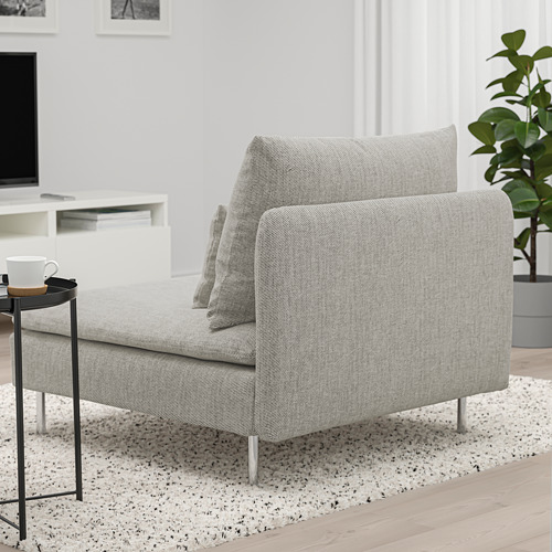 SÖDERHAMN - 單座位梳化, Viarp 米黃色/褐色 | IKEA 香港及澳門 - PE768598_S4