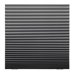 SCHOTTIS - block-out pleated blind, 100x190cm, dark grey | IKEA Hong Kong and Macau - PE680566_S3
