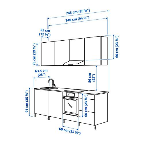 ENHET - 廚房, 仿混凝土   IKEA 香港及澳門 - PE825018_S4