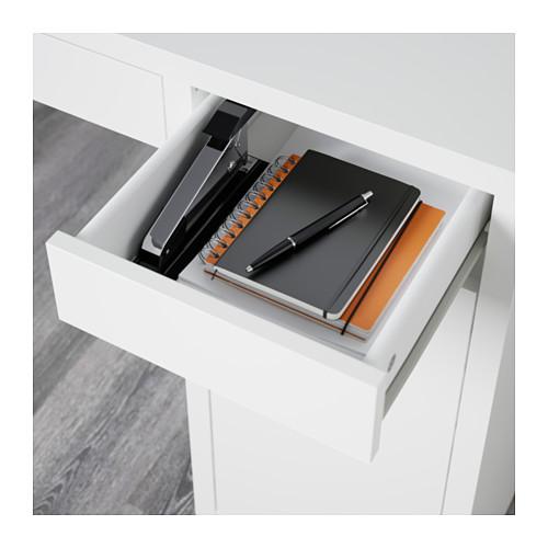 MICKE - 書檯, 105x50x75 cm, 白色 | IKEA 香港及澳門 - PE565256_S4