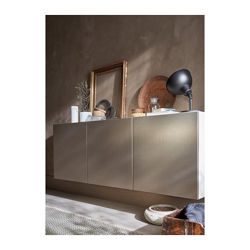 BESTÅ - 上牆式貯物組合, white/Riksviken light bronze effect   IKEA 香港及澳門 - PH163278_S4