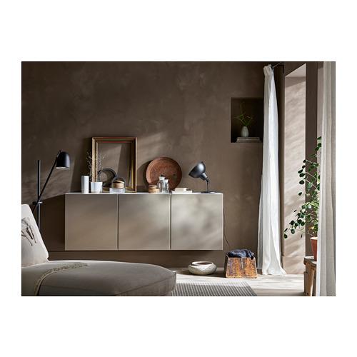 BESTÅ - 上牆式貯物組合, white/Riksviken light bronze effect   IKEA 香港及澳門 - PH163273_S4
