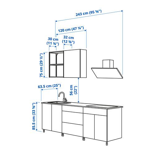 ENHET - 廚房, 白色 | IKEA 香港及澳門 - PE825046_S4