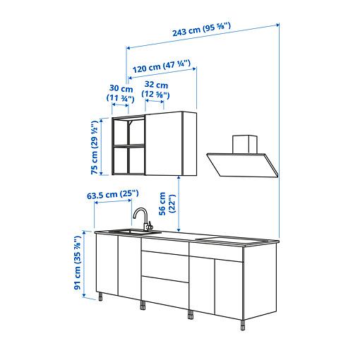 ENHET - 廚房, 白色 | IKEA 香港及澳門 - PE825047_S4