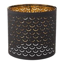 NYMÖ - 燈罩, 黑色/黃銅色 | IKEA 香港及澳門 - PE632547_S3
