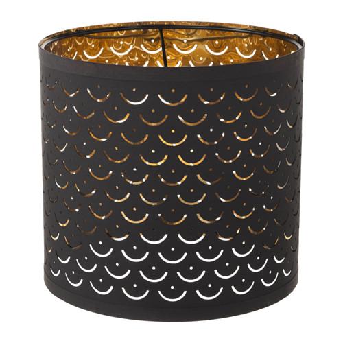 NYMÖ - 燈罩, 黑色/黃銅色   IKEA 香港及澳門 - PE632547_S4