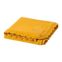 SOLGUL - blanket, dark yellow | IKEA Hong Kong and Macau - PE680716_S3