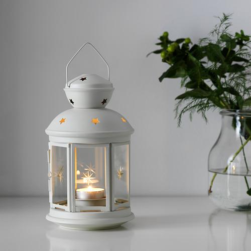 ROTERA - 小蠟燭燈座, 室內/戶外用 白色   IKEA 香港及澳門 - PE586346_S4