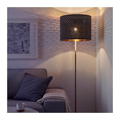 NYMÖ - 燈罩, 黑色/黃銅色 | IKEA 香港及澳門 - PE632574_S4
