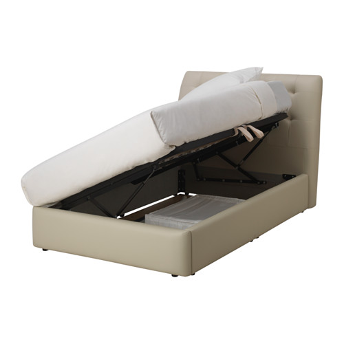 KORTGARDEN ottoman bed, small double