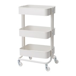 RÅSKOG - trolley, white | IKEA Hong Kong and Macau - PE632627_S3