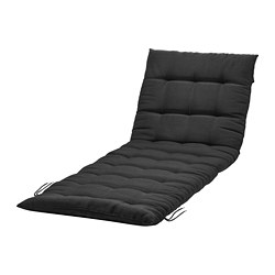 HÅLLÖ - sun lounger pad, black | IKEA Hong Kong and Macau - PE680769_S3