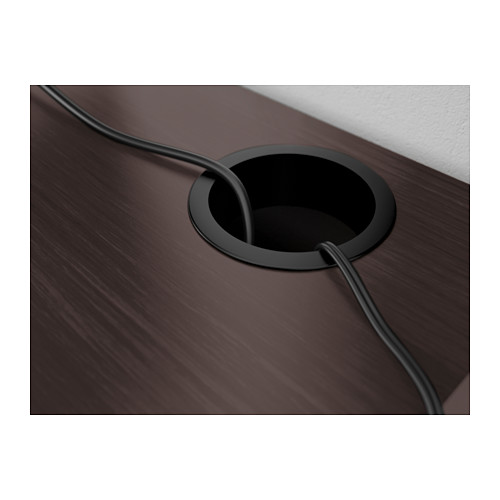MICKE - desk, width 73 x depth 50cm, black-brown | IKEA Hong Kong and Macau - PE565528_S4