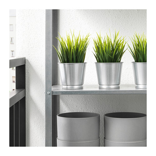 BINTJE - plant pot, galvanised | IKEA Hong Kong and Macau - PE724767_S4