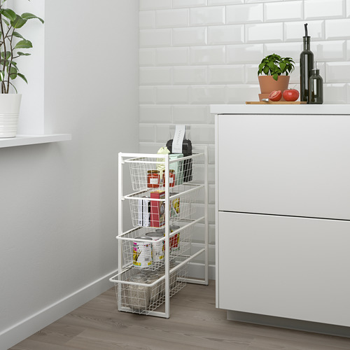 JONAXEL - frame with wire baskets | IKEA Hong Kong and Macau - PE732296_S4