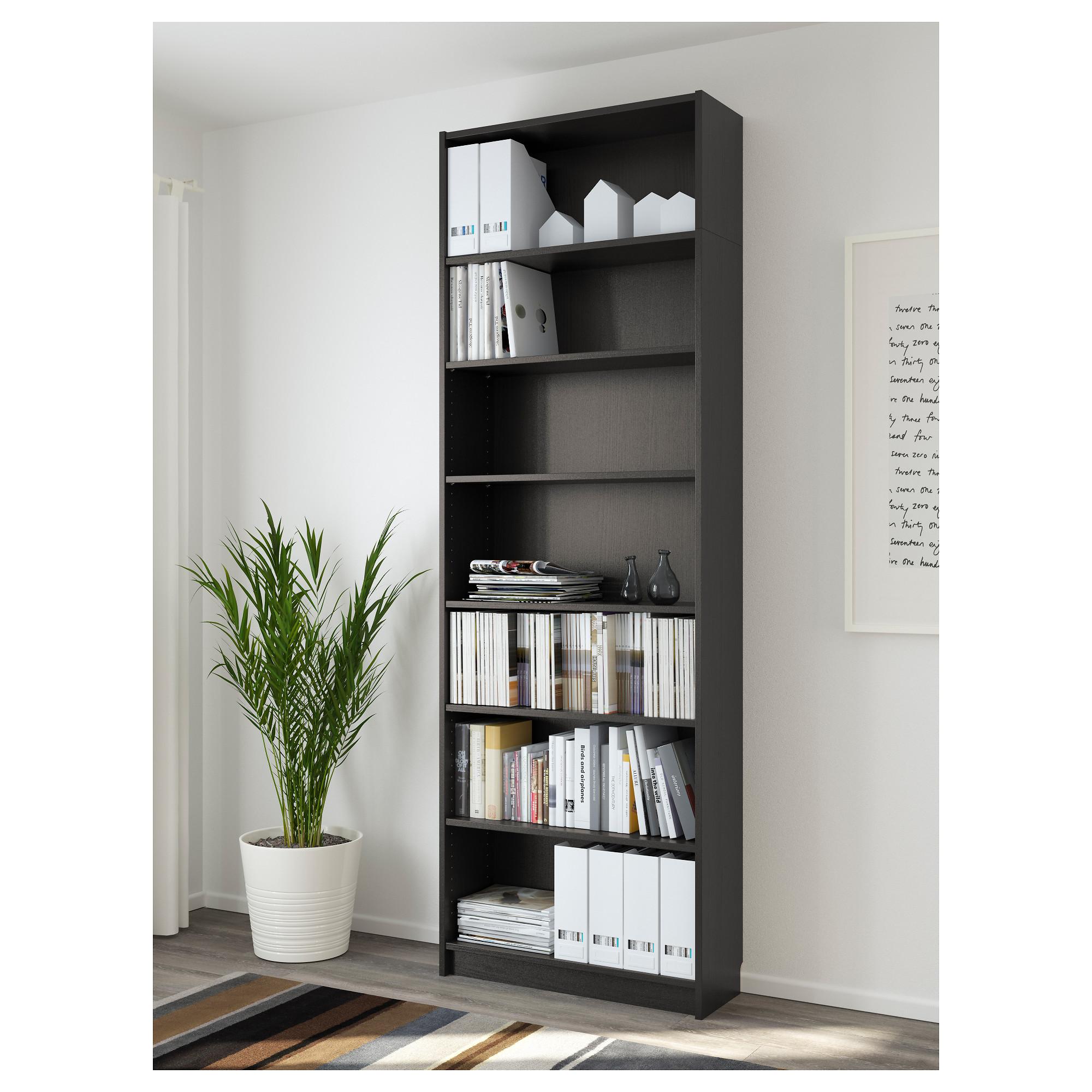 Billy Bookcase Black Brown Ikea Hong Kong