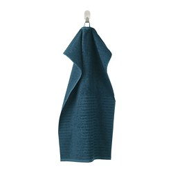 VÅGSJÖN - hand towel, dark blue | IKEA Hong Kong and Macau - PE681170_S3