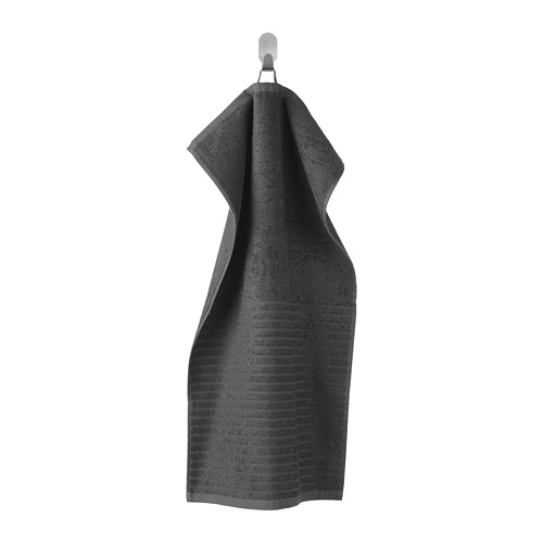 VÅGSJÖN - hand towel, dark grey | IKEA Hong Kong and Macau - PE681171_S4