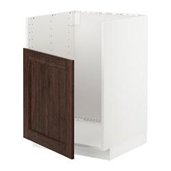 METOD - BREDSJÖN星盆地櫃, white/Edserum brown   IKEA 香港及澳門 - PE725114_S3